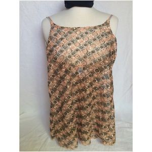 Intimately Free People Sequins Tank